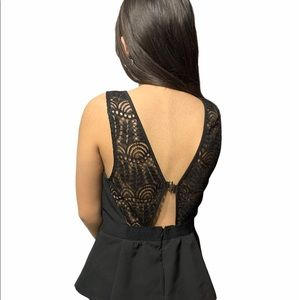 Dynamite Lacey Sleeveless Top